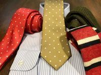 オーダー商品の納期のご案内とセールのネクタイのご案内など。 - 'k'not ordinary