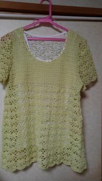 かぎ針編み チュニック - いつまでたっても新米ママ