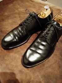 【Hiroshi Arai】外羽根プレーントゥ、良いエイジングです - Shoe Care & Shoe Order 「FANS.浅草本店」M.Mowbray Shop
