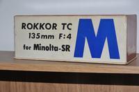 きょう届いた ロッコールTC 135mmF4 - nakajima akira's photobook