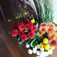 【ご案内】8/30 フラリパ紀子先生 癒しのフラワーレッスン・重陽の節句〔菊の節句〕アレンジメント♪ - 大阪薬膳 Jackie's Table  おもてなし料理教室