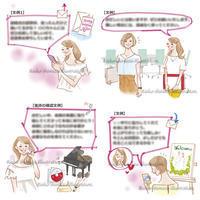 ゼクシィweb&アプリ記事イラスト - 女性誌を中心に活動するイラストレーター ★★清水利江子の仕事ブログ