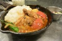 野菜たっぷりのカレーを食べるつもりが… 野菜を食べるカレーcamp - 今日はなに食べる? ☆大阪北新地ランチ