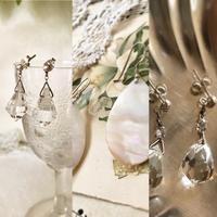 ●英国ヴィンテージ  クリスタルガラスのネックレス - 英国古物店 PISKEY VINTAGE/ピスキーヴィンテージのあれこれ