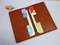 ケースに入れて・・・通帳・カードは  - 革小物 paddy の作品