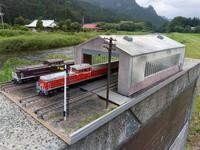 HOオーダージオラマ「非電化機関庫」完成 - e-stationショップブログ