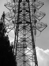 夏雲と鉄塔 - 節操のない写真館