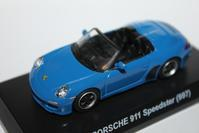 1/64 PAO FENG PORSCHE Taiwan 7-11 Limited 911 Speedster (997) - 1/87 SCHUCO & 1/64 KYOSHO ミニカーコレクション byまさーる
