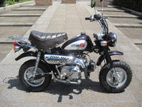 モンキー中古車 - バイクの横輪