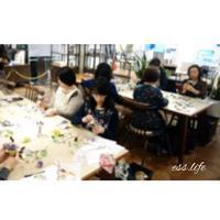 認定講師によるワークショップ@日本橋三越はじまりのカフェ - 毎日を丁寧に暮らす。木の実アレンジメント