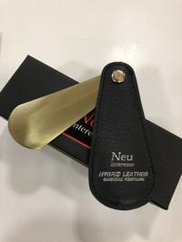 【Neu Interesse】ハイブリッドレザー×真鍮 - 池袋西武5F靴磨き・シューリペア工房