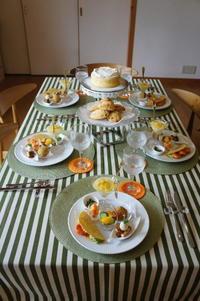 【夏のお料理教室】 - モンスーンの食卓日記
