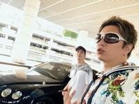 GACKTライン:巧が空港まで迎えに来てくれた - 風恋華Diary