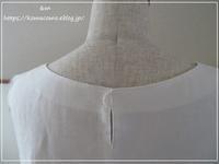 【ハンドメイド 洋服】リネンの七分袖のプルオーバー作り始めました♪** - &m   handmade with linen,cotton...