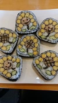 7月の飾り巻きずしレッスンのお知らせ - 日本料理しみずや 気ままな女将通信