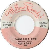 Guys & Dolls ‎– Looking For A Lover / Strange World - まわるよレコード ACE WAX COLLECTORS
