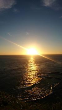 与那国島旅行記初日最西端・西崎からの夕陽、そして台湾の島影 - 鴎庵