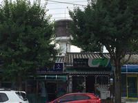 扶余のある給水塔 - 韓国アート散歩