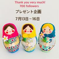 Instagramプレゼント企画!スタート! - フェルト手芸作家「PANENKA」北向邦子「わたしの毎日」