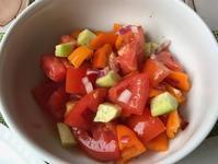 トマトと胡瓜とミニパプリカのサラダ - やせっぽちソプラノのキッチン2