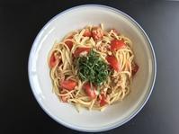 トマトとツナの冷製パスタ(2種類) - ぼっちオバサン食堂