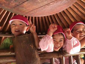 さくらんぼ組 遊びの様子 - 川崎ふたば幼稚園ブログ