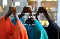 """2018 Summer Style New for Sale!... 7/14sat"" - SHOP ◆ The Spiralという館~カフェとインポート雑貨のある次世代型セレクトショップ~"