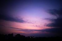 今日の夕暮れ - 雲フェチ