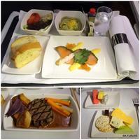 キャセイパシフィック航空機内食 - FK's Blog