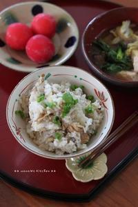 さば缶炊き込みご飯(๑¯﹃¯๑)♪ - **  mana's Kitchen **