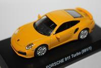1/64 PAO FENG PORSCHE Taiwan 7-11 Limited 911 Turbo (991/1) - 1/87 SCHUCO & 1/64 KYOSHO ミニカーコレクション byまさーる