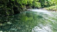 2018.7.14 増水の川で - river side