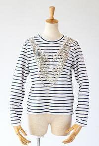leur logette(ルールロジェット)のコットンクチュールTシャツ - jasminjasminのストックルーム