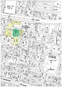 憲法便り#2657:『検証・新宿区のデモ規制強化』(その⑤)新宿区が、デモの出発地から除外した三つの区立公園と、出発地として残した区立新宿中央公園の地図を公表します! - 岩田行雄の憲法便り・日刊憲法新聞