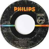 The Changin' Times – Pied Piper / Thank You Babe - まわるよレコード ACE WAX COLLECTORS