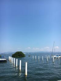 すこやかさん、いざ 琵琶湖❗️ - 京都西陣 小さな暮らし