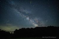 たきがしら湿原の夜 - デジタルで見ていた風景