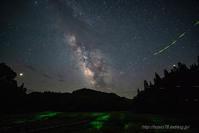 惑星と銀河とホタルと - デジタルで見ていた風景