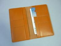 ポケットへ、バッグへ・・・通帳・カード(プレゼントに!)  - 革小物 paddy の作品