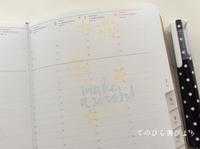 サブ手帳(ハイタイドnahe)6月ウィークリーページ - てのひら書びより