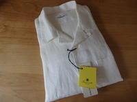 ジャンネットオープンカラーリネンシャツ(sizeS) - オシャレとイクメンと時々、おか~ちゃん -愚衷百折記-