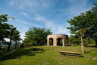 松山総合公園ベンチ風景① - かたくち鰯の写真日記2