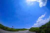 夏空。 - 青い海と空を追いかけて。