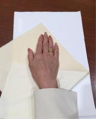 本日の「素敵だCOLOR」は、白ジャケット。 - 色彩コンサルタント 松本千早のブログ REAL COLOR DREAM