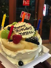 誕生日はミヨちゃんの大好物の・・・・ - 00aa恵比寿美容室  Hana★癒し系ヘアサロン★《ヘアー・ハナ》