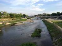 鴨川デルタでひと休み後、叡山ケーブルで比叡駅のパノラマ広場へ  - mayumin blog 2