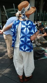 大江戸にて7月 - 古布や麻の葉