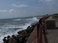 海の日の風景 - 千葉県いすみ環境と文化のさとセンター