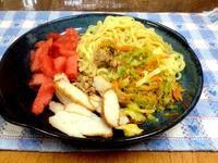 ☆冷たい麺でランチタイム☆ - ガジャのねーさんの  空をみあげて☆ Hazle cucu ☆
