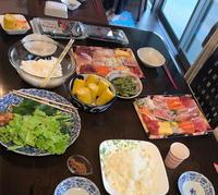 暑い夏 孫 手巻き寿司 - ニッキーののんびり気まま暮らし